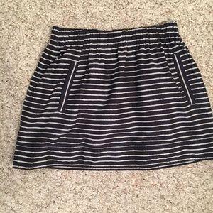 J Crew nautical skirt
